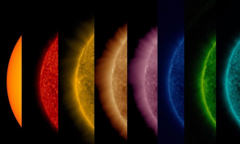 Güneş'in Yüzeyiyle Atmosferindeki Sıcaklık Farkını Gösteren Muazzam Fotoğraf